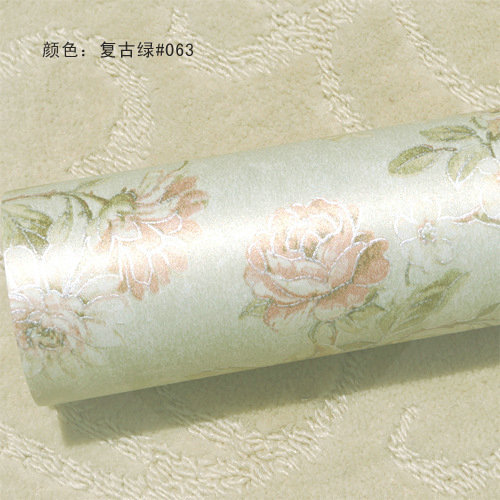 living room wallpaper pastoral non-woven fabrics wallpaper adhesive wallpapers sky for ceilings LP-956(China (Mainland))