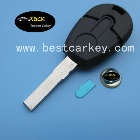 New style remote car key shell for fiat key for fiat key shell(China (Mainland))