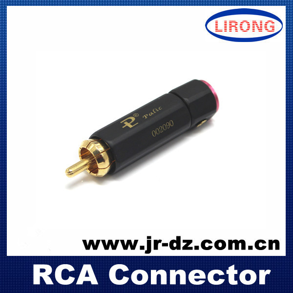 Good Quality High Performance Audiophile Gold Plated RCA Plug Audio Grade plug - Chaozhou Xiangqiao District Lirong Electronics Factory store