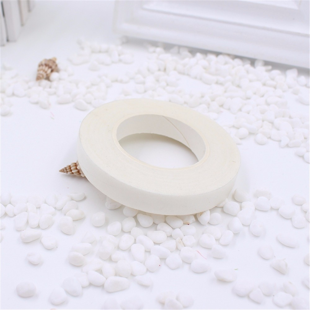 new 25Meter Garland Tape Artificial Flower Fixed Supplies For Wedding Decoration DIY Wreath Flores Garland Supplies Tape Glue