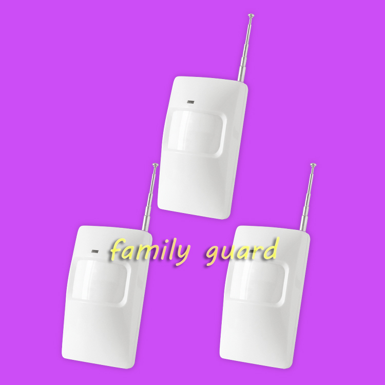 Free Shipping!3 pieces/lot Wireless PIR Detector for home alarm home security system 433/315MHZ motion sensor<br><br>Aliexpress