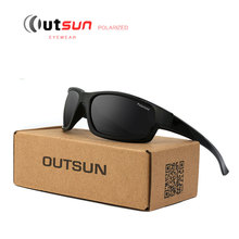 Buy OUTSUN 2017 Hot Fashion Door Sun Glasses HD Polarized Sunglasses Men Brand Designer Original Oculos De Sol Masculino for $7.80 in AliExpress store