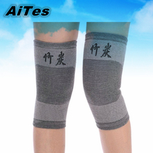 Bamboo Carbon Fiber Knee Sleeve Protector Compression Tendon Knee Recovery Brace Support Kneepad for Joint Pain Relief Arthritis(China (Mainland))