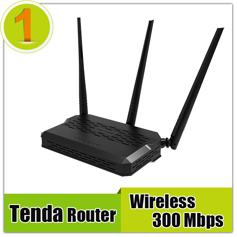 Free shipping TENDA 300Mbps Wireless-N Router WIFI Repeater Home Networking Router 3 Antenna 4 Ports RJ45 802.11g/b/n(China (Mainland))