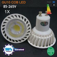 Buy Dimmable GU 10 Led Spotlight AC 220V 110V Led cob Lamp Warm Spot Light LED Bulb Lampada GU10 Lampara Ampoule Led Bombillas for $2.80 in AliExpress store