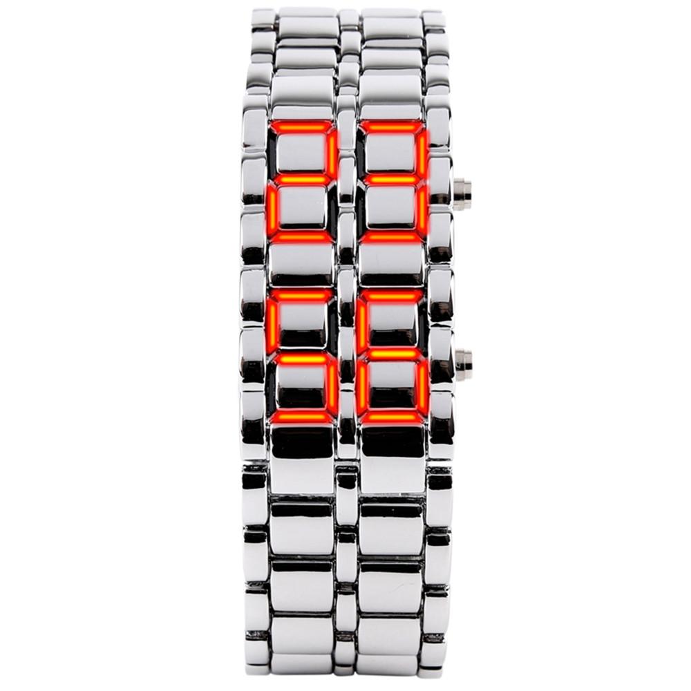 Skmei СВЕТОДИОДНЫЕ движения 30 М водонепроницаемые Часы Моды Время Полосы