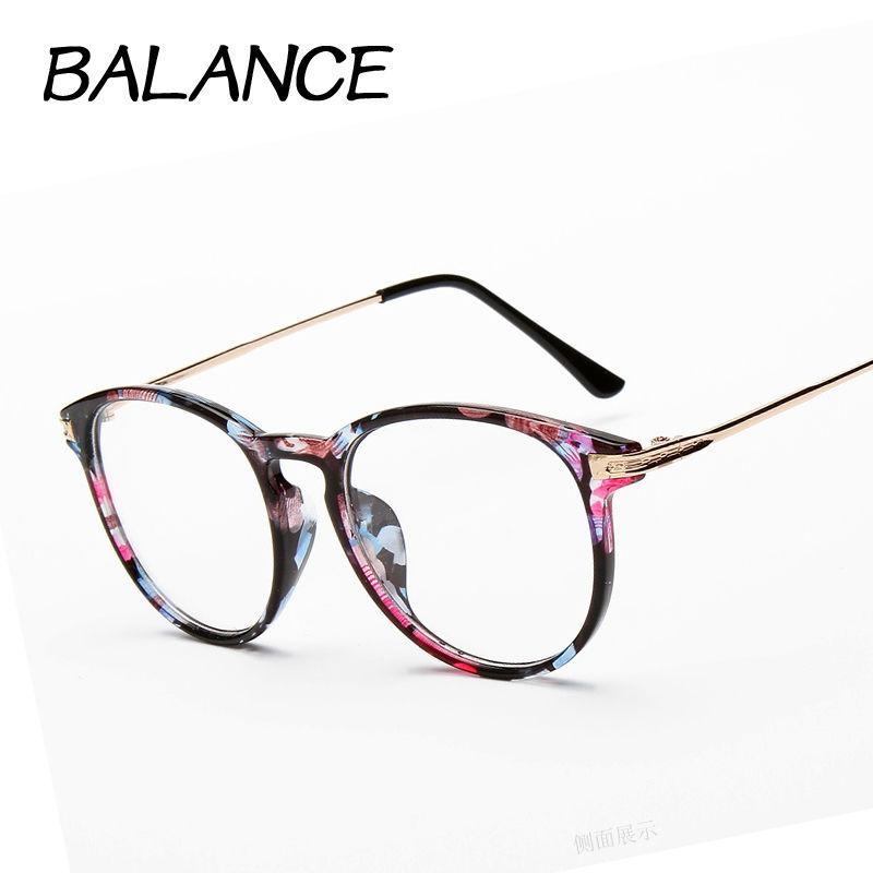 reading glasses Retro Unisex oculos para maquiagem Metal points womens glasses frame UV Protection female eyeglasses oculos F01