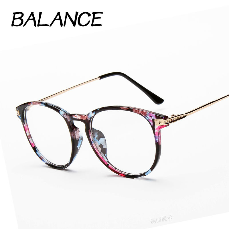 Reading glasses Retro Unisex Metal points womens eye ...