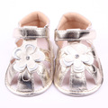 Low price summer baby girl s rubber sole sandals toddler flower bow girls floral adornments pull