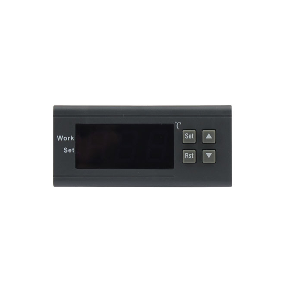 1PC New 220V 10A Mini Digital LCD Display Thermostat Temperature Controller with Delay Protection Function for Refrigerator(China (Mainland))