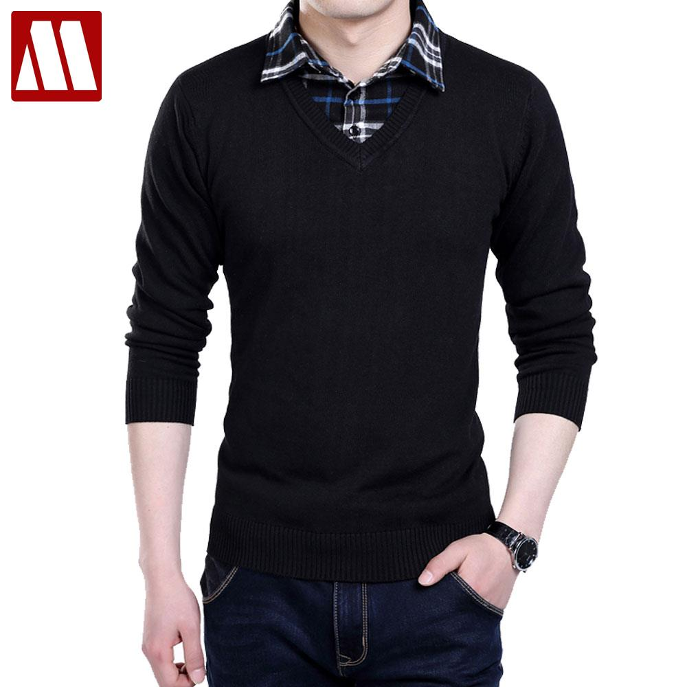 Buy 2016 high quality casual sweater men for Mens designer casual shirts sale