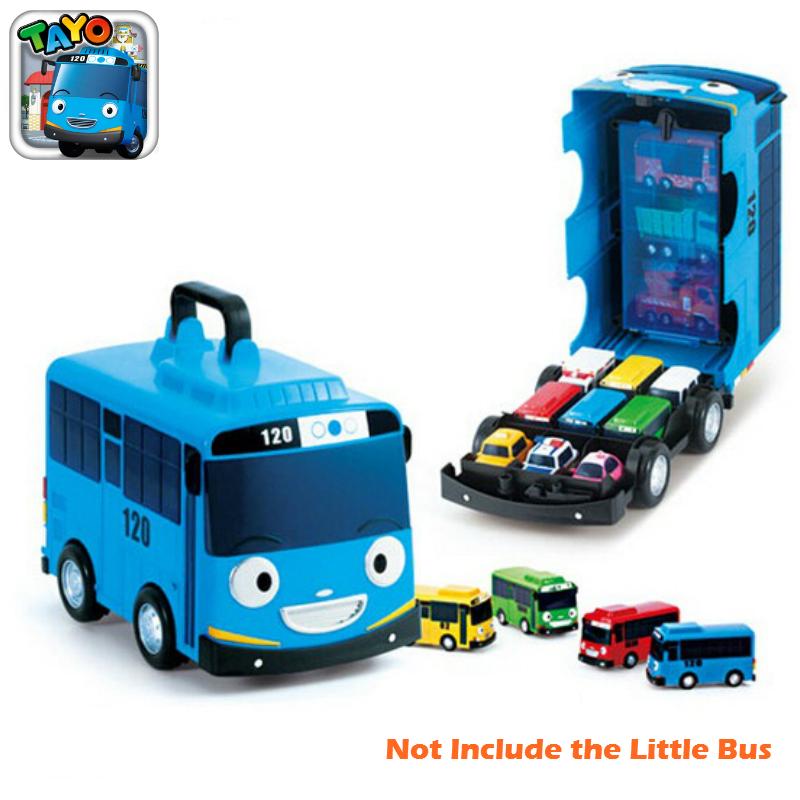 Tayo Bus Tayo Little Bus Plastic Car Miniature Korean Cute Cartoons Tayo Rogi Lani Gani Traffic Safety Education(China (Mainland))