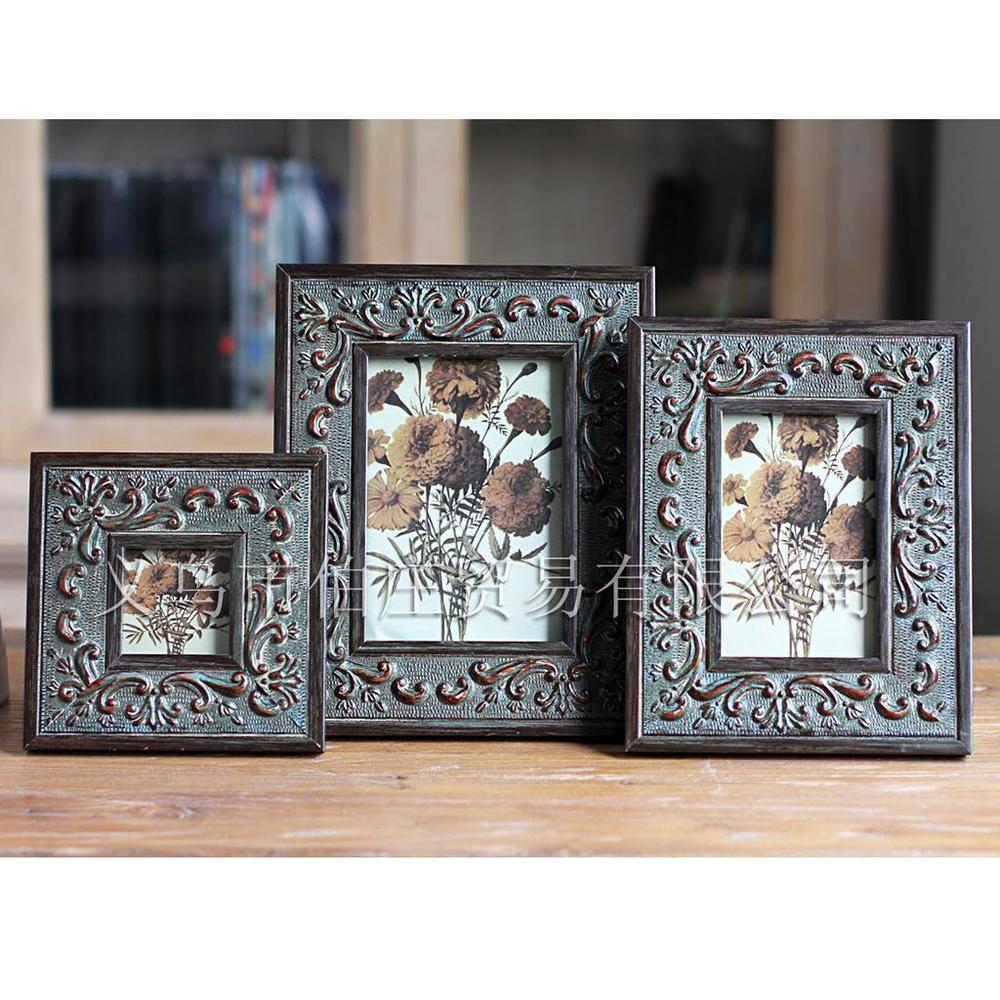367-inch wood frame Continental Frames Home decor ideas upscale room like rack wholesale(China (Mainland))