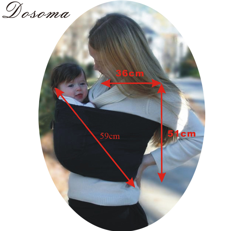 Hot sell comfort cotton baby carriers & infant slings Good Baby Toddler Newborn cradle pouch ring sling carrier winding stretch
