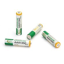 New Hot BTY 4 X Rechargeable Batteries AAA 1350mAh 1.2V Ni-MH Ne(China (Mainland))