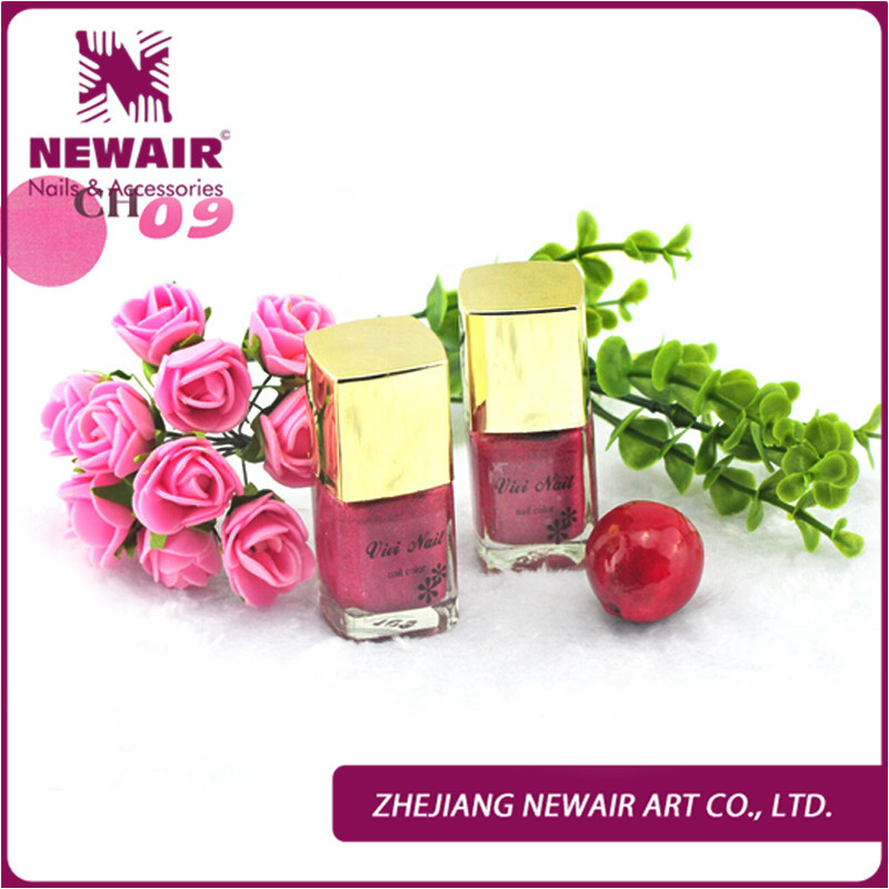 Fashion Decoration 10 Colors Charm Shiny Flocking Rainbow Design Powder Nail Polish Art Tip Gold Cover Tool 9909-CH09#(China (Mainland))