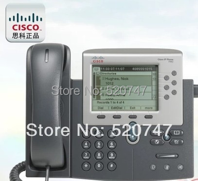 Genuine Cisco IP telephones multifunction telephone network switches CISCO CP-7962G =(China (Mainland))