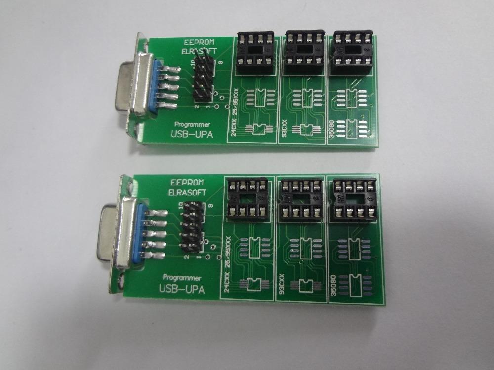 Free Shipping 3pcs lot upa usb rpogrammer eeprom adapter UPA USB 1 3 eeprom adapter