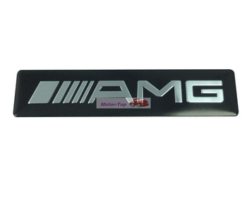 Metal Rear Side Emblems Badge Decal Sticker For Mercedes Benz ///AMG AMG Free Shipping High Quality Wholesale