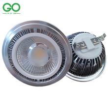 AR111 15W COB ES111 QR111 GU10 G53 LED Spotlight 12V 24V 110V 120V 220V 230V 240V Equal 120w Halogen Lamp Spot Lamp Promotion(China (Mainland))
