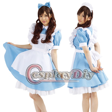 custom made kawaii dress cute Maid cosplay  (Freeshipping)