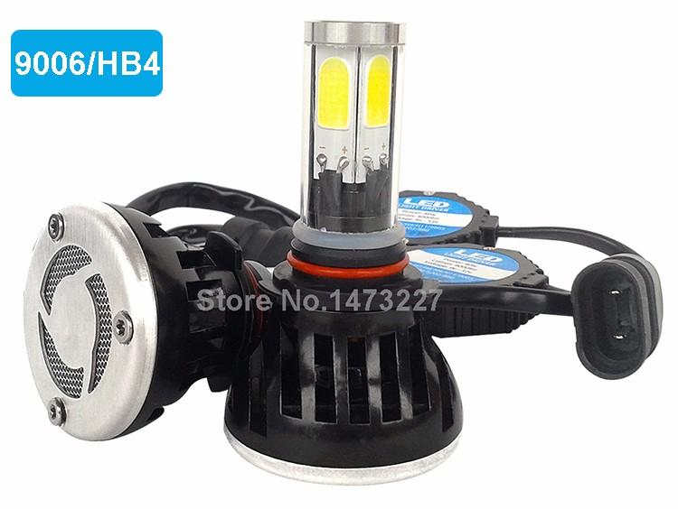CNSUNNYLIGHT COB LED Headlight Kit H7 H11 H8 9005 HB3 9006 HB4 40W 4000LM Car Head Lamp Fog Light Replacement Bulb Play and Plug (4)