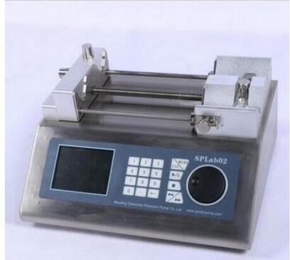 Lab Scientific Syringe Pump Infusion Pump 2 Channel Nonmedical 0.004-108.31ml/m fast shipping