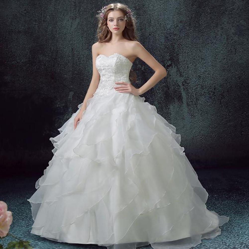 Zkc дядя новый прибыл летом кисточкой свадебное платье женщины белое кружево без бретелек backless длинные плюс размер свадьбы платье, ty.2018