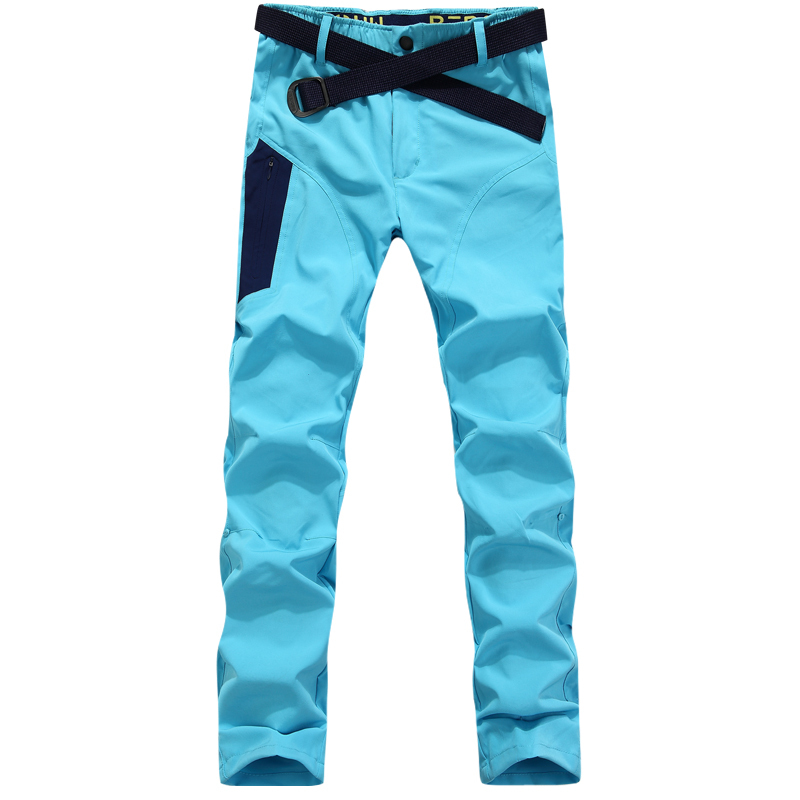 style outdoor quick-drying pants bike hkiing fishing Men women lovers breathable moisture travel camping trousers - Sunshine group Ltd store