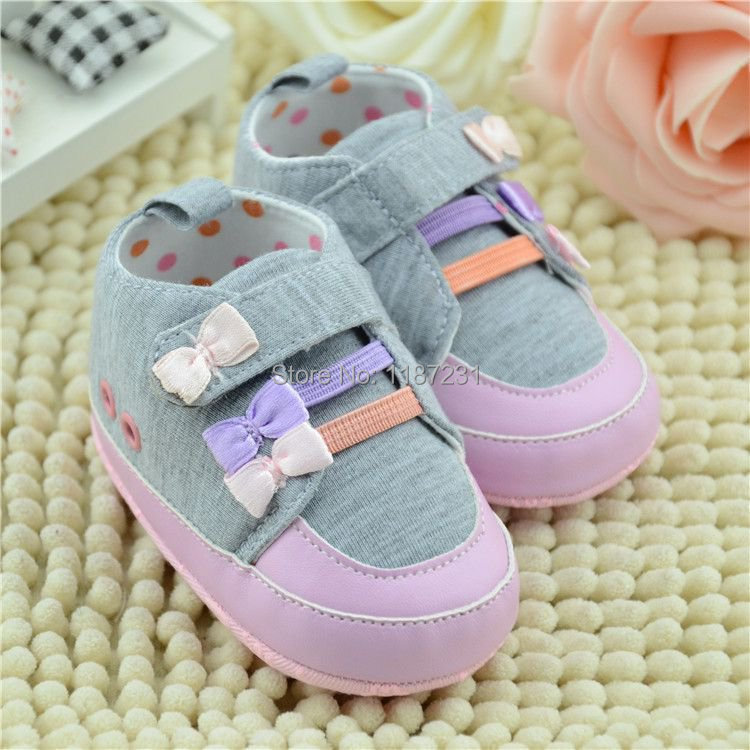 New Spring&Autumn Cute Infant Anti-slip Causal Pink Shoes For New Born Girls PreWalkers Baby Shoes(China (Mainland))