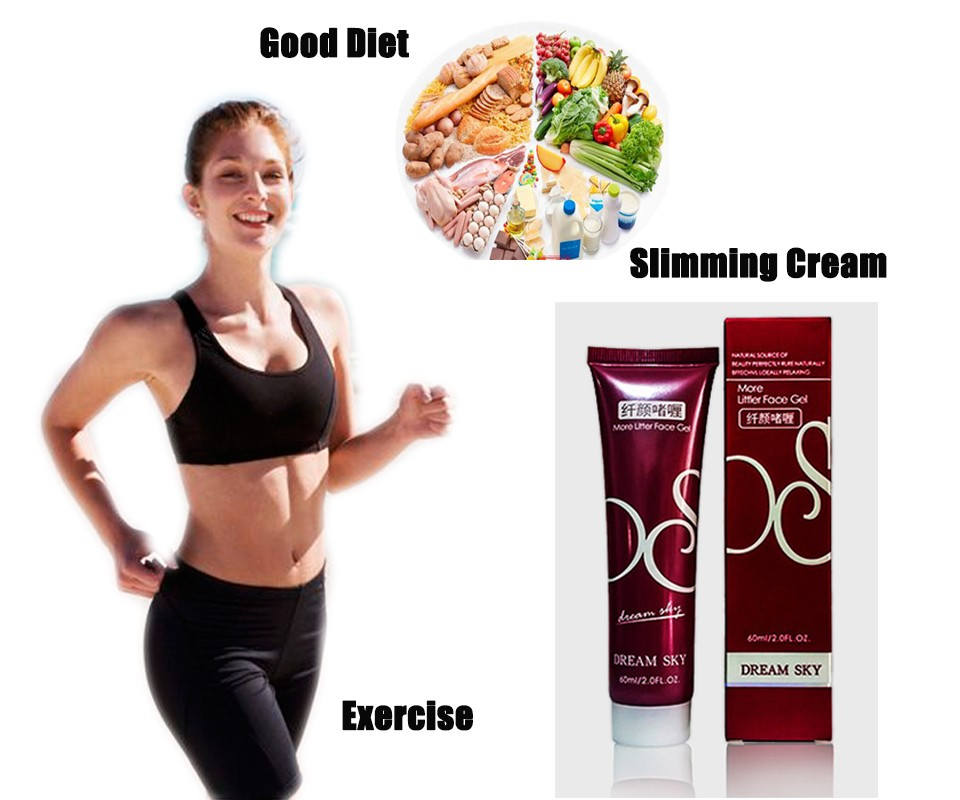 4pcs 60G Weight Loss Slimming Products Patch Green Tea Slimming Cream Oil Leg Body Waist Effective Anti Cellulite Fat Burning