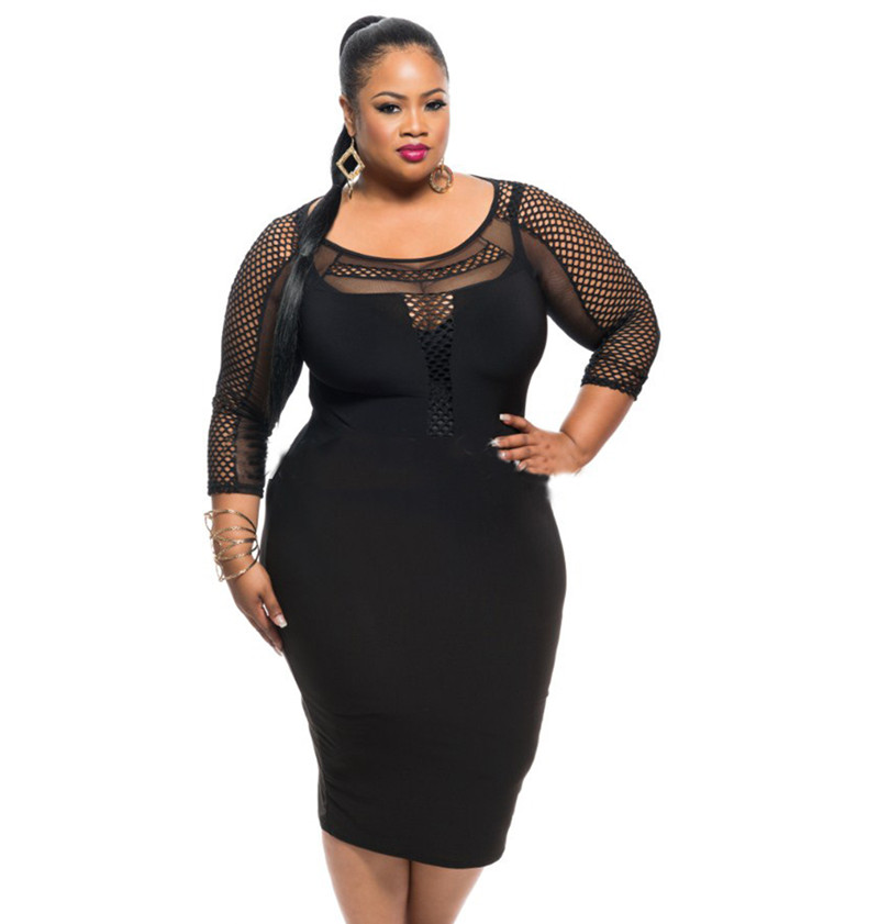 Large black girls
