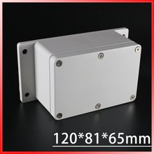 120*81*65mm Europe Style Gery Cover small plastic boxes use terminal /Meter/Junction Enclosure Waterproof IP65 - Heating Cable Wire Trade Company store