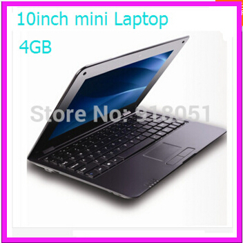 Free shipping 3colors 10 inch VIA8880 Android 4.2 Netbook Mini laptop 512MB 4GB with Webcam HDMI Mini Educational Computer(China (Mainland))