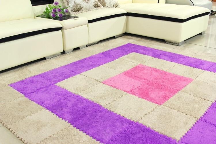 washable table coffee carpet baby bedroom pink kids foam