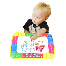 Hot Sale 29X19cm Baby Kid Child Water Drawing Painting Writing Mat Board & Magic Pen Doodle Toy Gift(China (Mainland))