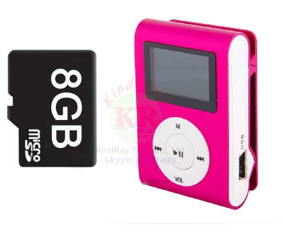 MP3-плеер OEM 8gb MP3 + 8gb tf + USB MP3 8gb MP3 FM