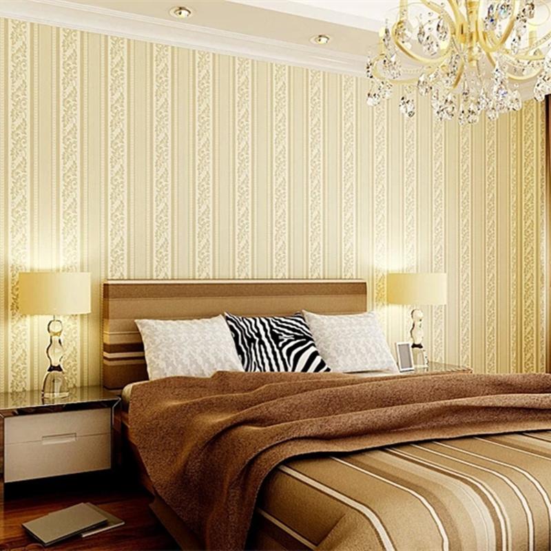 papier peint rayures promotion achetez des papier peint rayures promotionnels sur aliexpress. Black Bedroom Furniture Sets. Home Design Ideas