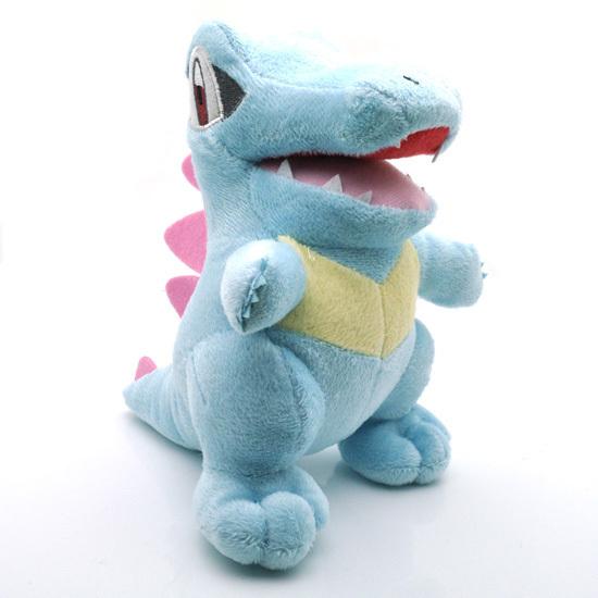17 см Pokemon Totodile Плюшевые Игрушки Куклы Nintendo Pokemon Totodile Кайман Крокодил Мягкие Плюшевые Игрушки Куклы Подарок для Детей