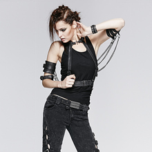 Punk Rave Heavy Black Wings Version Accessory Material Fashion Accessory Patchwork(China (Mainland))
