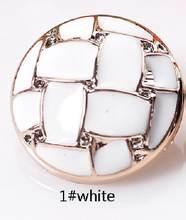 18/22/25/30 мм хвостовиком кнопки ABS Проверьте белый черный для модных пальто костюм ручной работы подарок коробка Craft DIY пользу швейная фурнитур...(China)