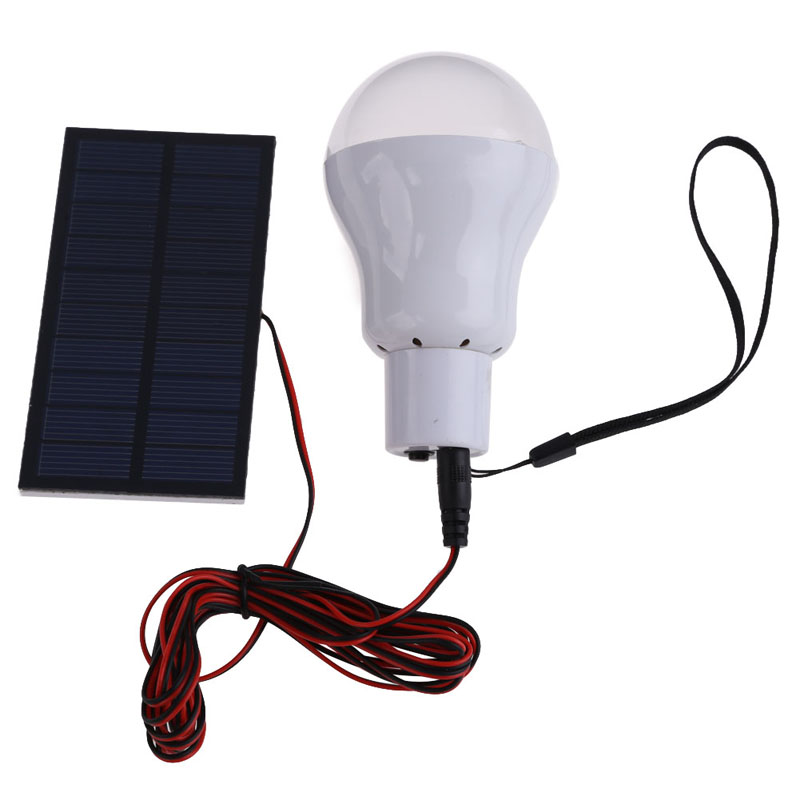 Portable Solar Power LED Bulb Lamp Outdoor Lighting Camp Tent Fishing Lamp<br><br>Aliexpress