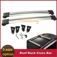 Auto Car Offroad Roof Rack Cross Bar with Lock Anti-theft SUV 4X4 Top 150LBS 68KG  Aluminum Luggage Carrier