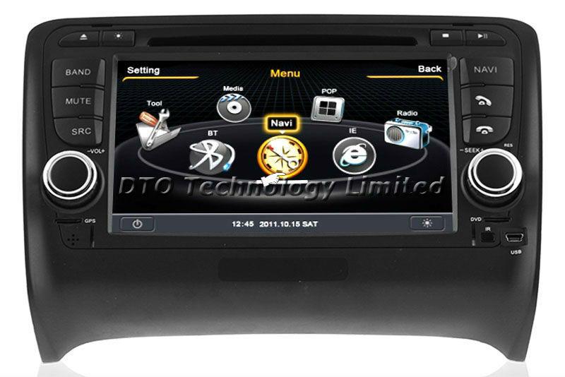 support wholesale for audi tt mk2 car dvd gps player autoradio navigation stereo multimedia. Black Bedroom Furniture Sets. Home Design Ideas
