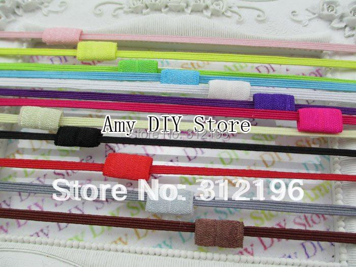Free Shipping!60pcs/lot About 1/8 Inch Skinny Elastic Interchangeable Loop Headband,Baby Headband,Children Accessories,FD001S(China (Mainland))