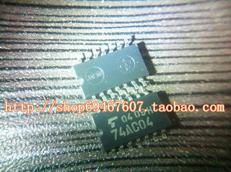 Free shipping 10pcs/lot TC74AC04F TC74AC04 TSSOP-14 CMOS Digital Integrated Circuit Monolithic Hex Inverter new original(China (Mainland))