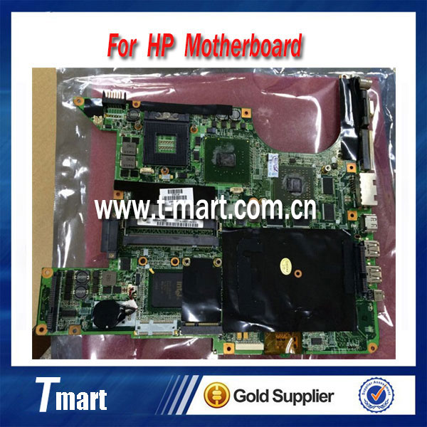 for hp dv9000 434660-001 laptop motherboard for intel cpu with 8 video chips working well and full tested(China (Mainland))