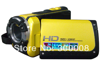 Professional Waterproof under water digital camcorder with 16MP 1080P full HD and 3.0 inch TFT screen High definition