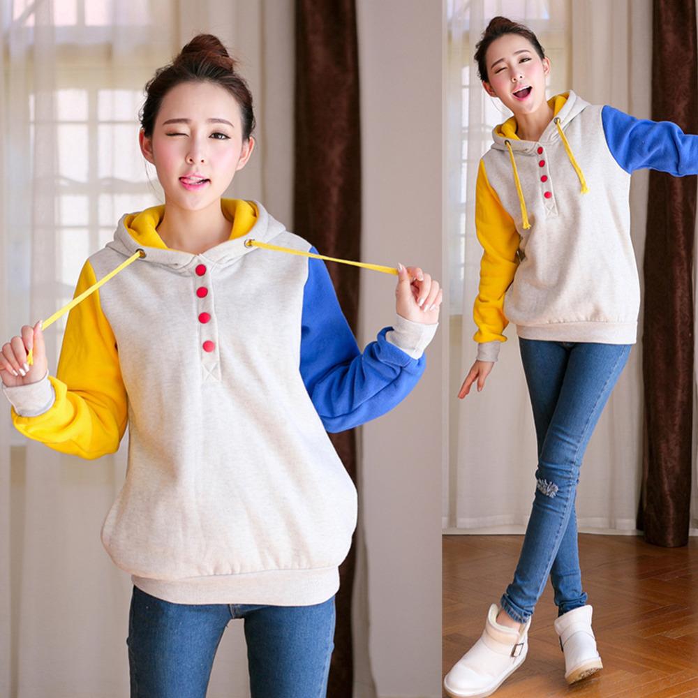 New Women Winter Autumn Hoodies Cheap Sweatshirt Sweater Casual Hooded Coat Hot Sale Free Shipping (China (Mainland))