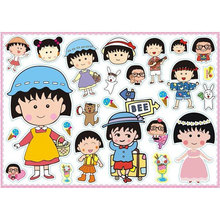 Size A3 cute cartoon stickers waterproof adhesives sticker bag parts 42*30cm BG024(China (Mainland))